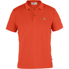 Fjällräven Övik Polo Shirt Men Flame Orange
